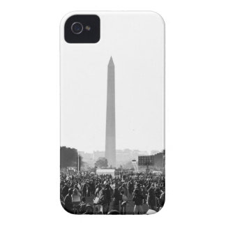 The National Mall at Justice or Else iPhone 4 Case-Mate Case