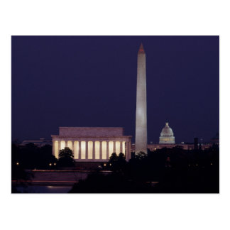 The National Mall - Washington DC Postcard