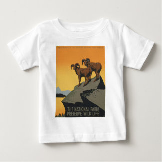 The national parks preserve wild life baby T-Shirt