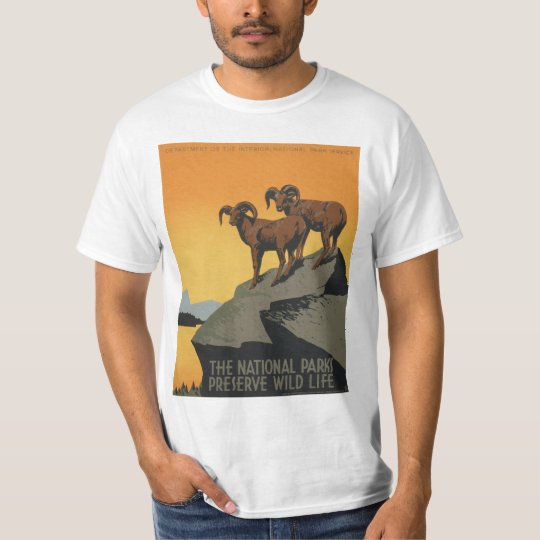 The National Parks Preserve Wild Life Shirt