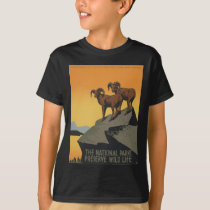 The national parks preserve wild life T-Shirt
