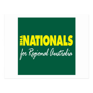 The National Party (Nationals) 2013 Postcard