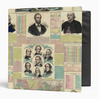 The National Political Chart Vinyl Binders