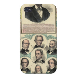 The National Political Chart iPhone 4 Cover