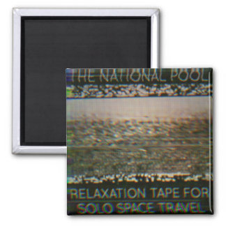 "The National Pool - ""Relaxation Tape..."" Magnet"