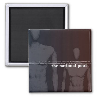 The National Pool - Self-Titled Album Magnet