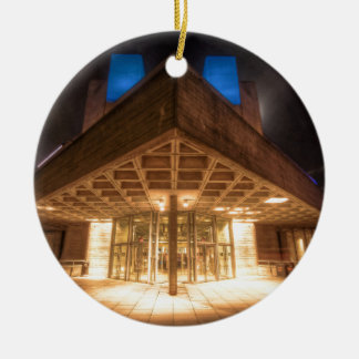 The National Theatre, London's Southbank Ceramic Ornament