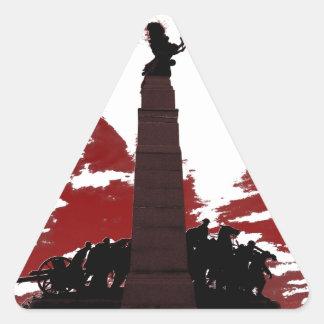 The National War Memorial Triangle Sticker