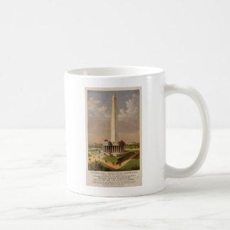 The National Washington Monument 1885 Mugs