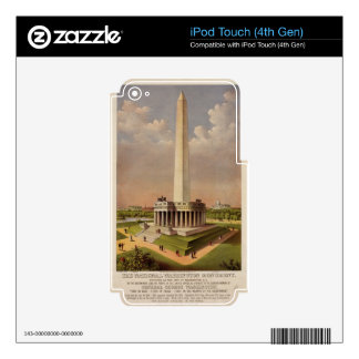 The National Washington Monument 1885 iPod Touch 4G Decal