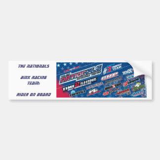"The Nationals ""Rider on board"" Bumper sticker Car Bumper Sticker"