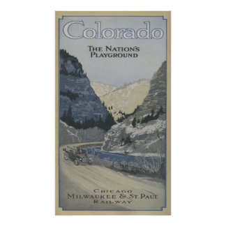 The Nation's Playground Poster