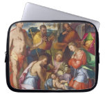 The Nativity, 1534 (oil on panel) Laptop Sleeves