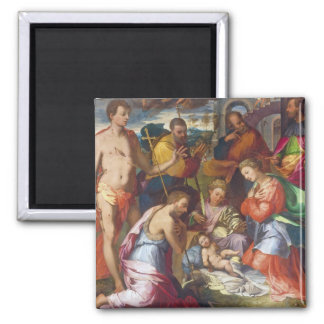The Nativity, 1534 (oil on panel) Magnet
