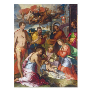 The Nativity, 1534 (oil on panel) Postcard