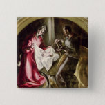 The Nativity, 1587-1614 Button