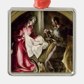 The Nativity, 1587-1614 Metal Ornament