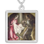 The Nativity, 1587-1614 Silver Plated Necklace