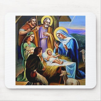THE NATIVITY #1 MOUSE PAD