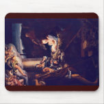 The Nativity By Correggio Mouse Pad