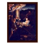 The Nativity By Correggio Postcard