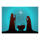 THE NATIVITY by SHARON SHARPE Posters