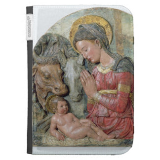 The Nativity, c.1460 (painted terracotta) Kindle Keyboard Cases
