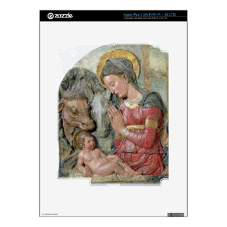 The Nativity, c.1460 (painted terracotta) iPad 3 Skin