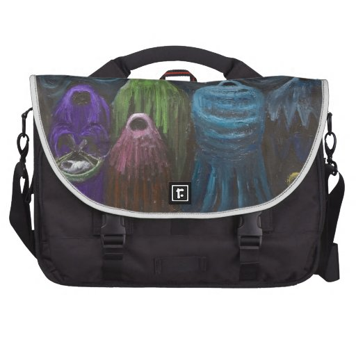The Nativity (Christianity theme surrealism) Laptop Bag
