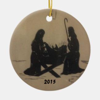 THE NATIVITY CHRISTMAS 2015 ORNAMENT