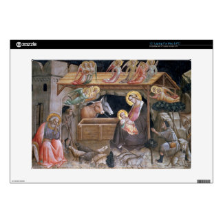 """The Nativity, detail from The life of the Virgin a Decal For 15"""" Laptop"""