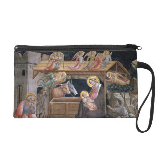 The Nativity, detail from The life of the Virgin a Wristlet
