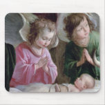 The Nativity, from the Buxtehude Altar, 1400-10 Mouse Pad