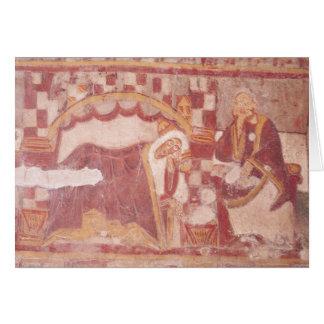 The Nativity, from the choir Card
