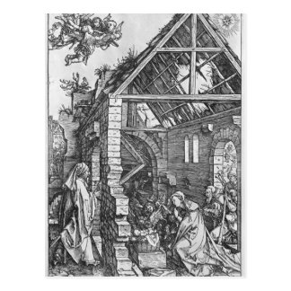 The Nativity, from the 'Life of the Virgin' Postcard