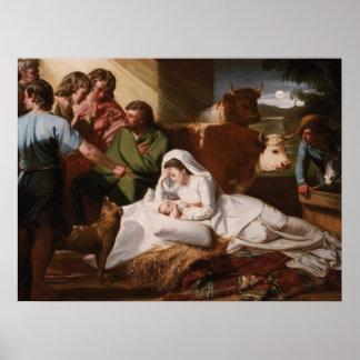 The Nativity - John Singleton Copley Poster