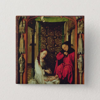 The Nativity, left wing of a triptych, c.1496 Button