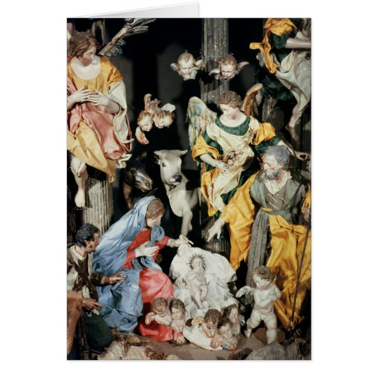 The Nativity, made in Naples Card