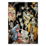 The Nativity, made in Naples Greeting Cards