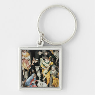 The Nativity, made in Naples Keychain