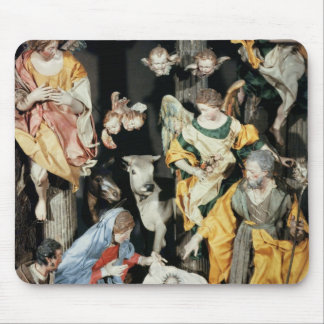 The Nativity, made in Naples Mouse Pad