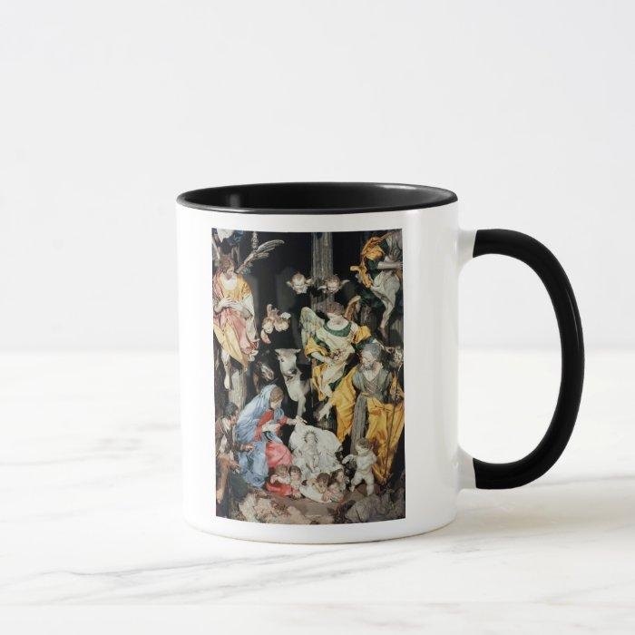 The Nativity, made in Naples Mug