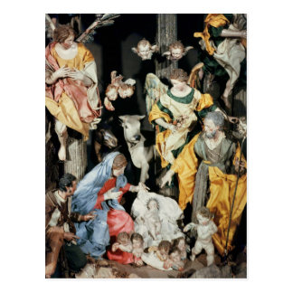The Nativity, made in Naples Postcard