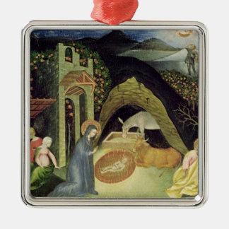The Nativity Metal Ornament