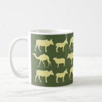 The Nativity Mug - Green/Yellow
