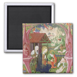 The Nativity, Northern Italian School 2 Inch Square Magnet