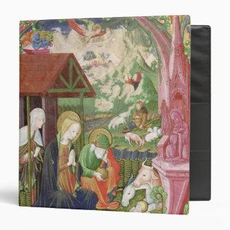 The Nativity, Northern Italian School 3 Ring Binder