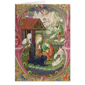 The Nativity, Northern Italian School Card