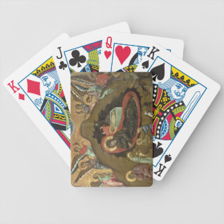 The Nativity, (oil on panel) Bicycle Playing Cards