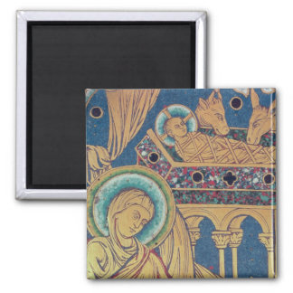 The Nativity, panel from the The Verduner 2 Inch Square Magnet